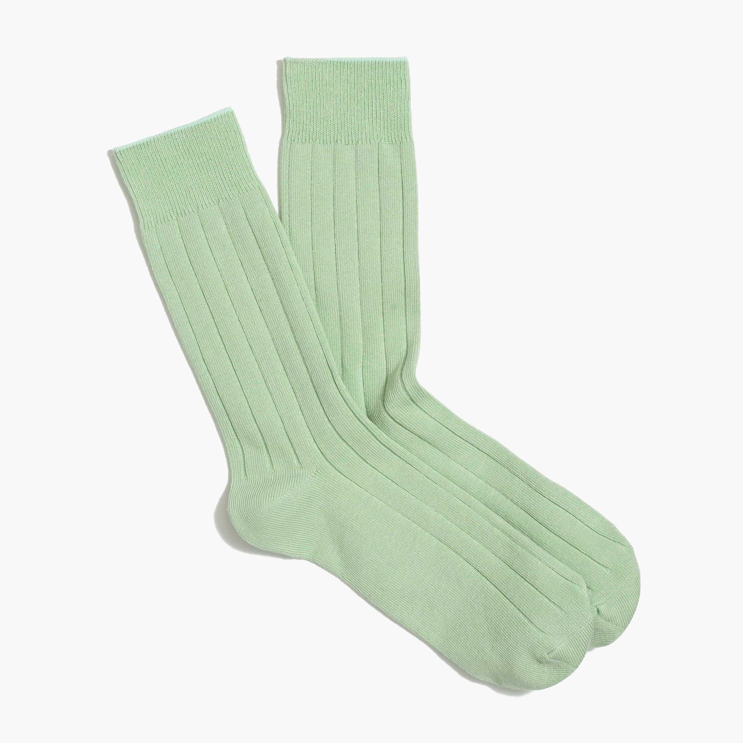 Solid color socks