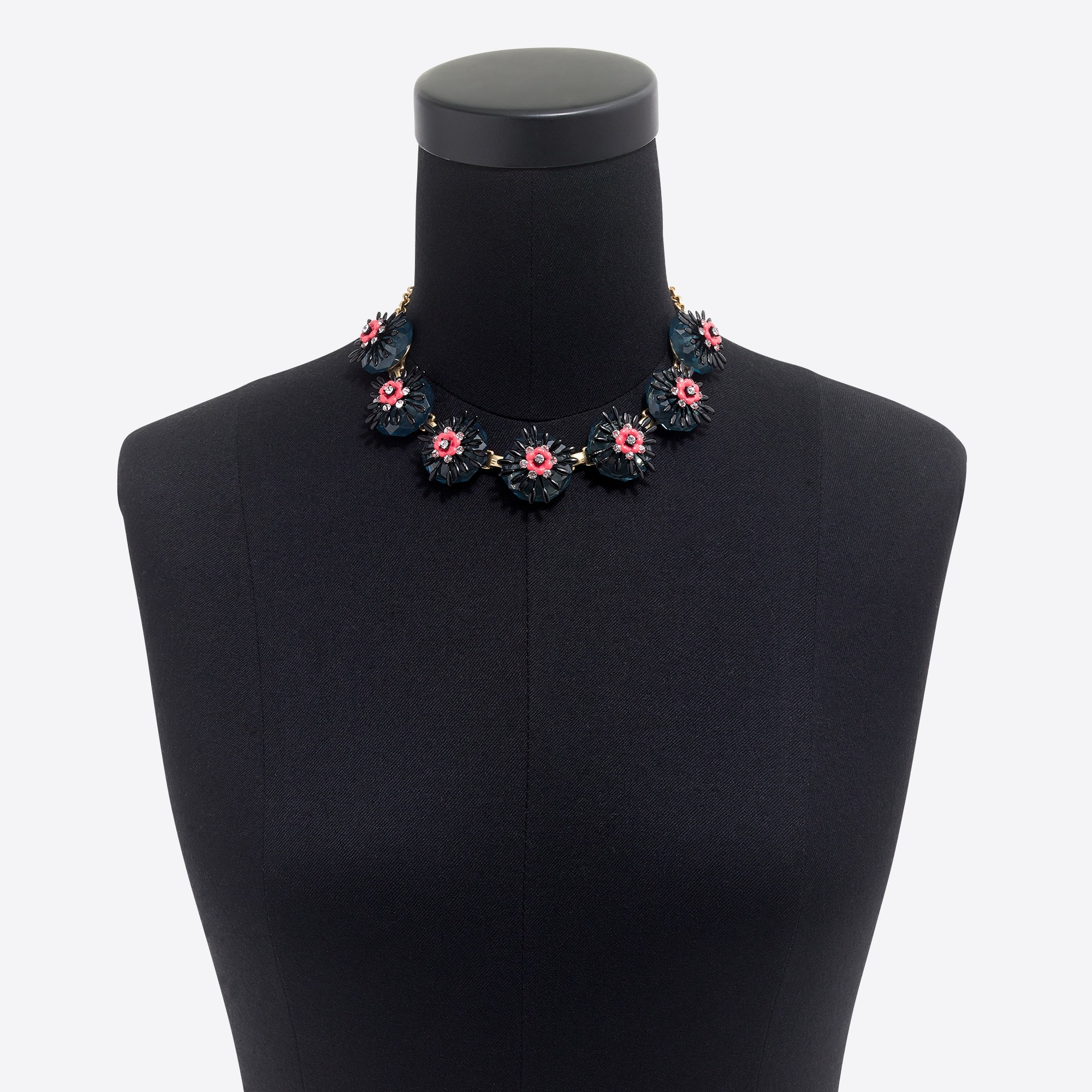 Image 2 for Sweet flower statement necklace