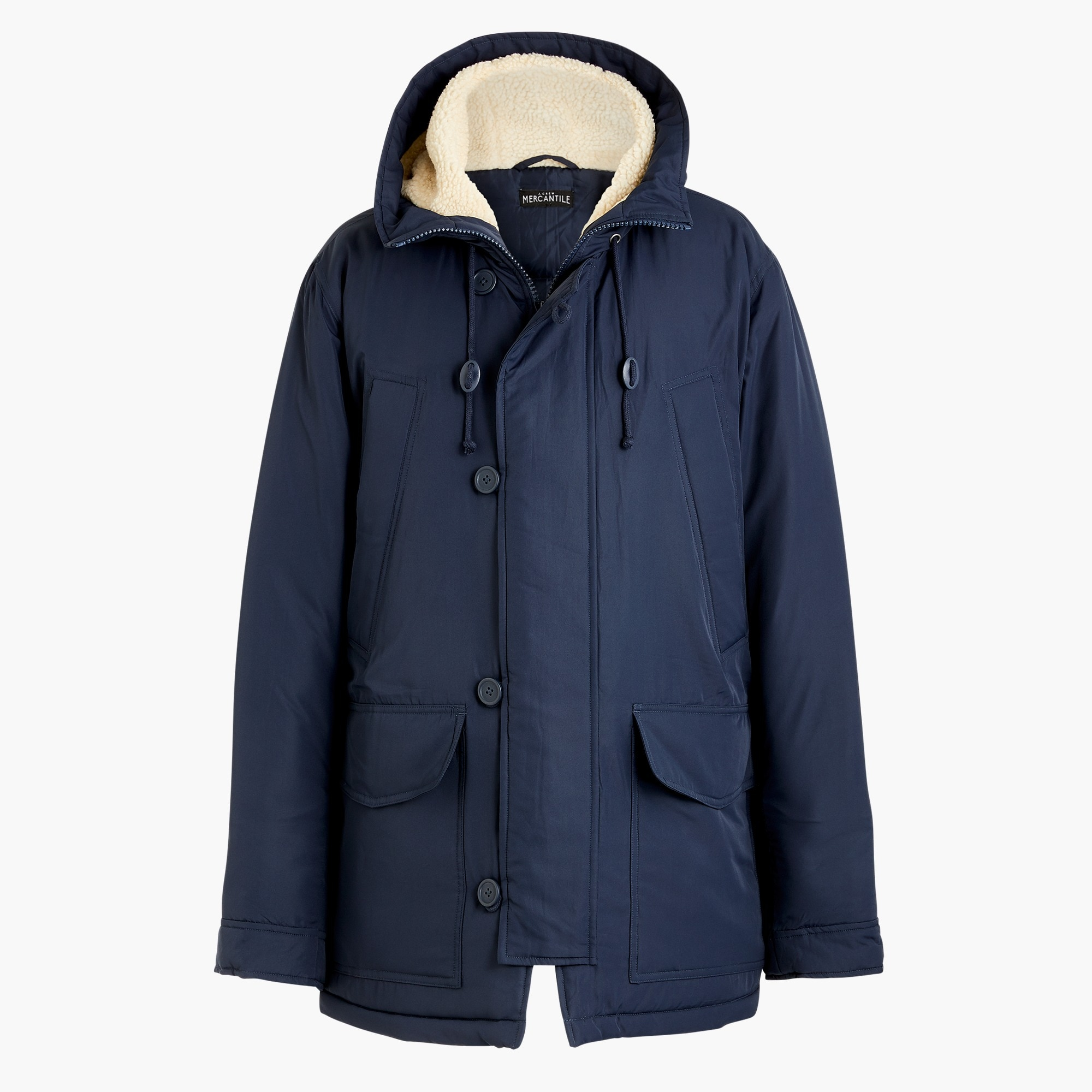 Image 2 for Sherpa-hooded parka