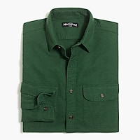 Tall rugged elbow-patch shirt