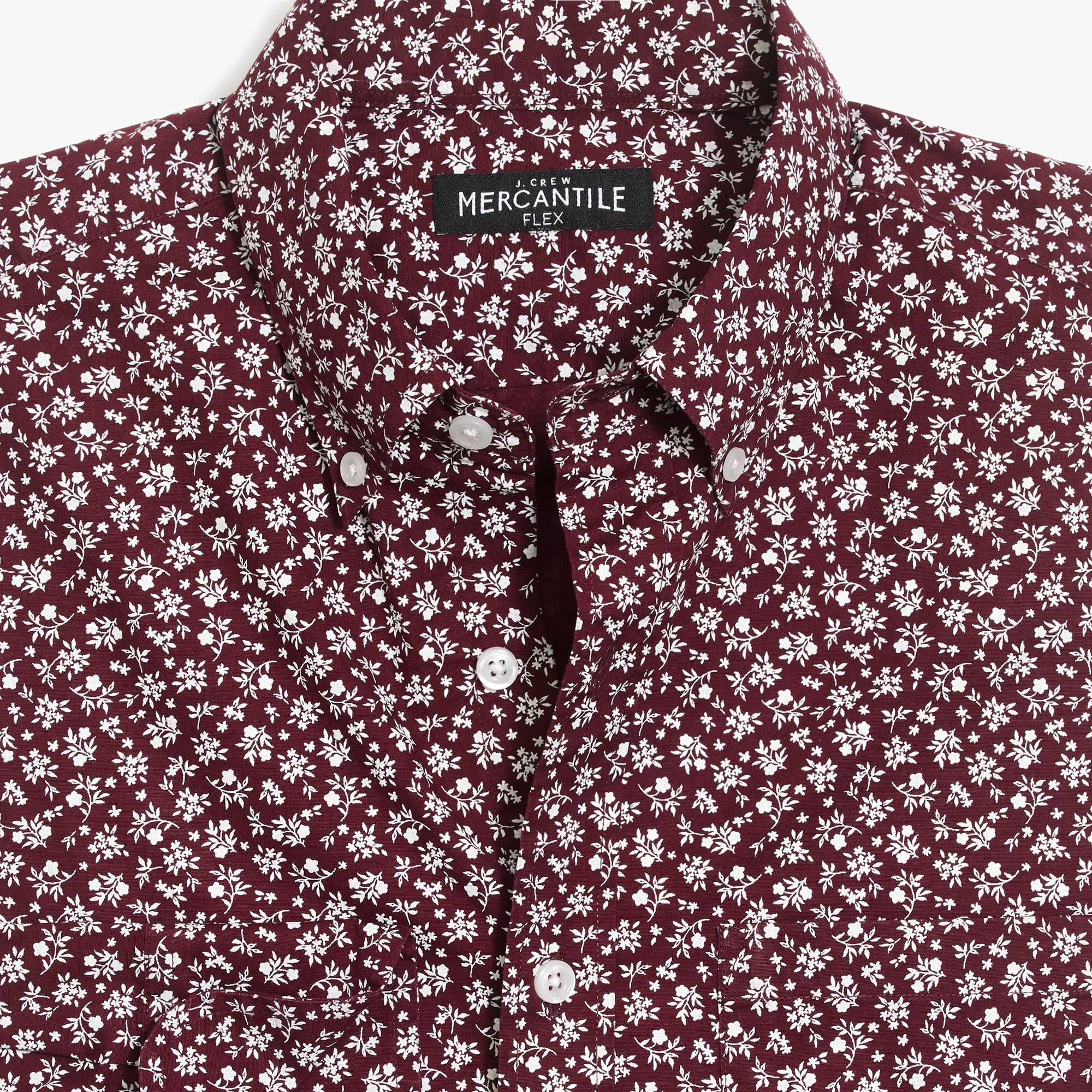 Image 4 for Classic flex washed shirt in print