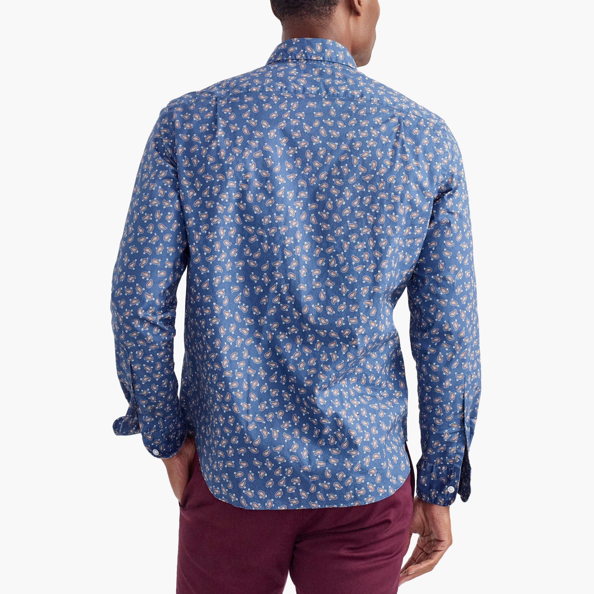 Image 3 for Classic flex washed shirt in print