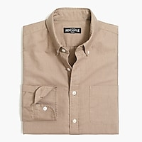 Image 2 for Slim heather flex oxford shirt
