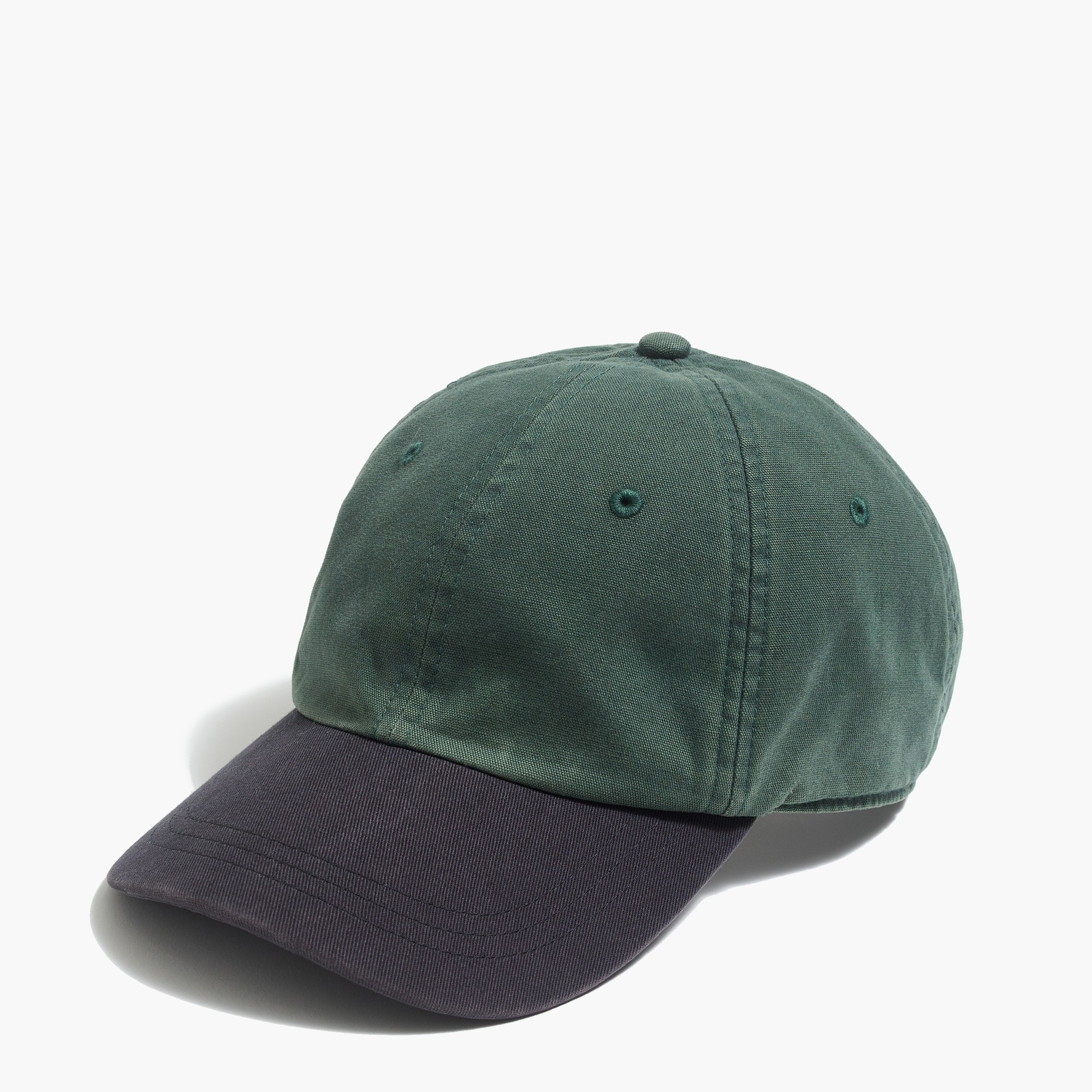 factory mens Colorblock baseball cap