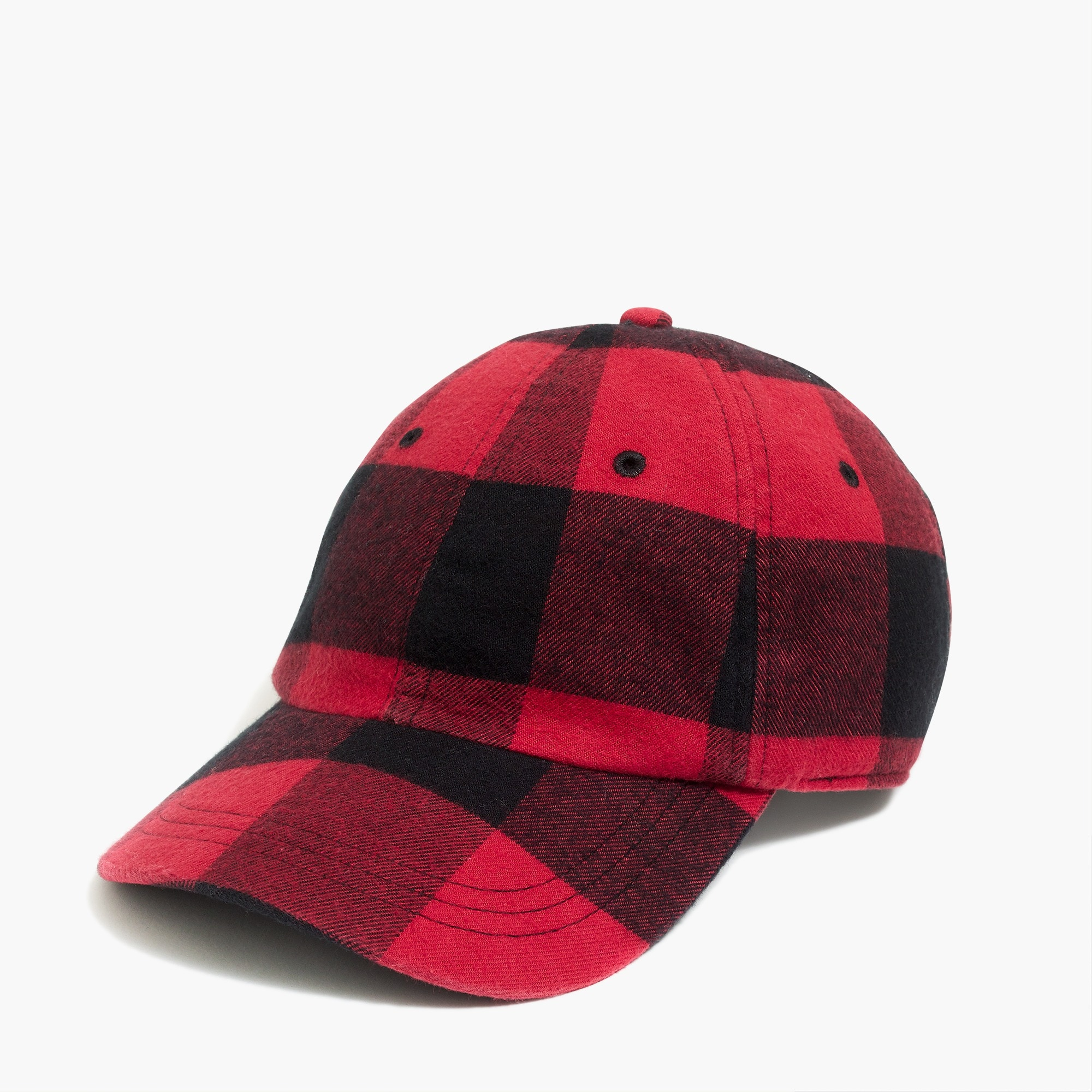 factory mens Flannel baseball cap
