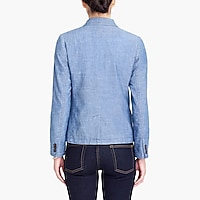 Image 3 for Chambray blazer