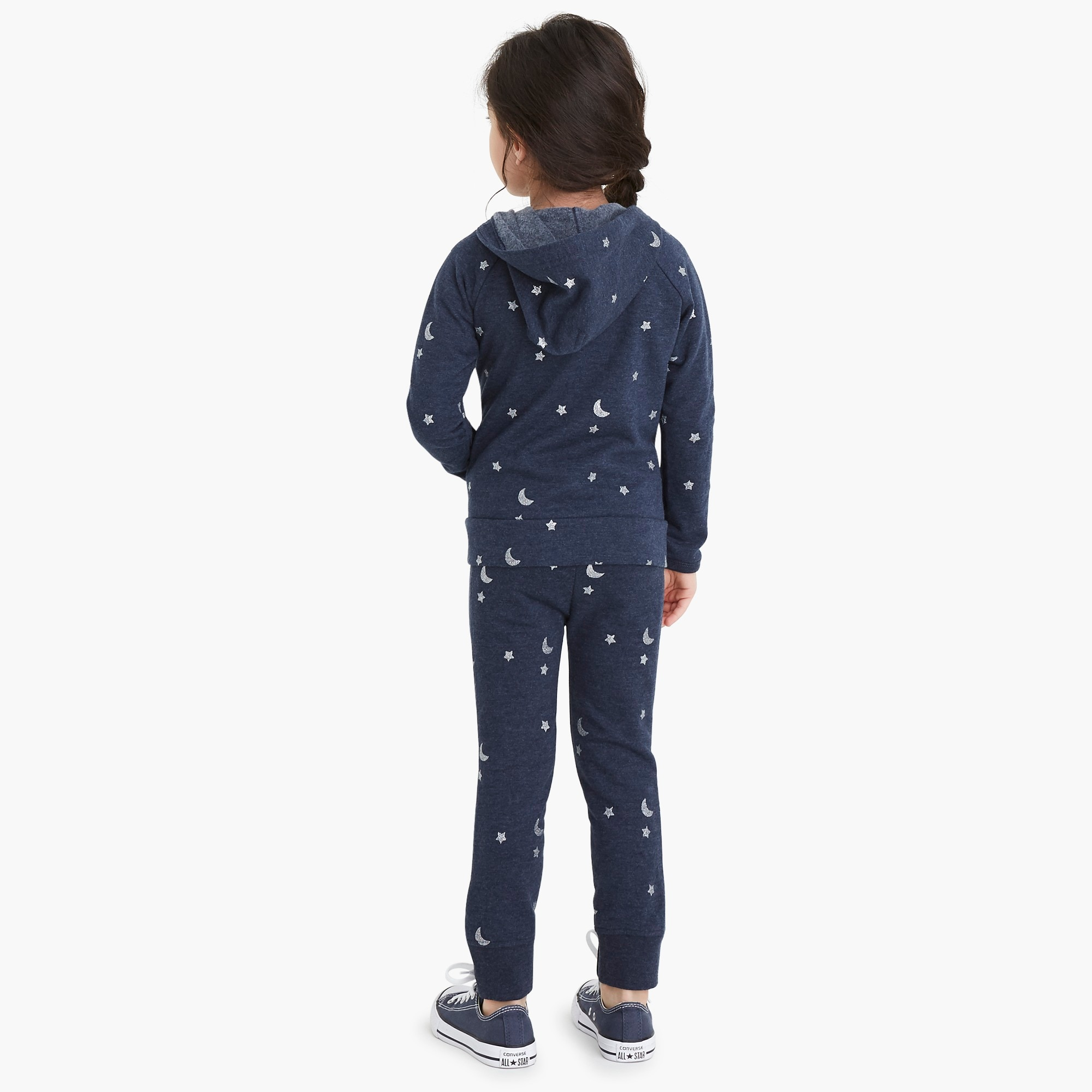Image 3 for Girls' sweatpants in star and moon print