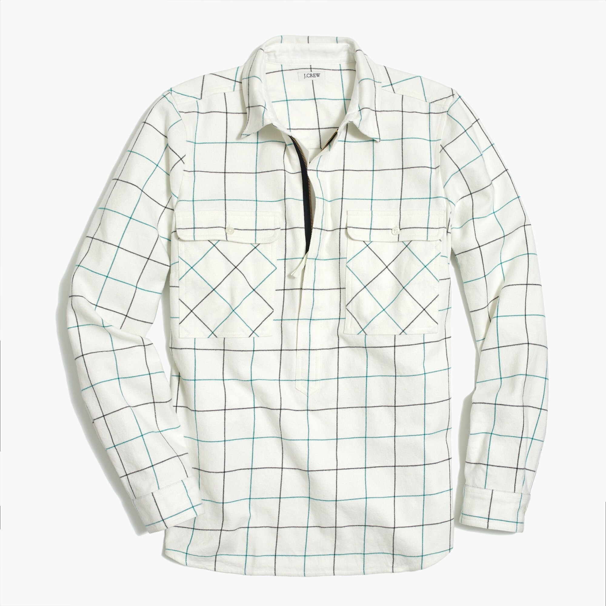 Image 1 for Flannel shirt-jacket
