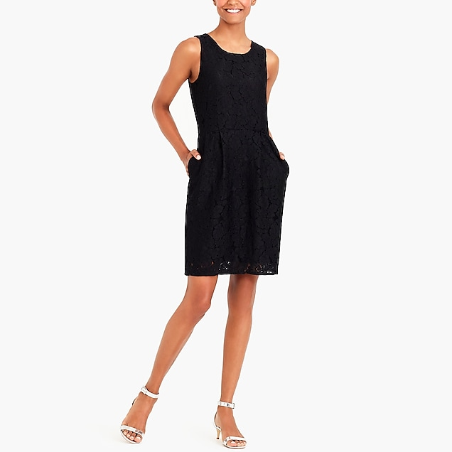 j.crew factory: fitted lace dress