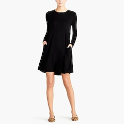 Swingy long-sleeve dress