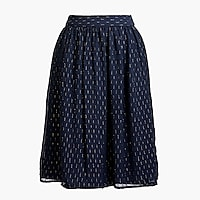 Image 2 for Gold thread midi skirt