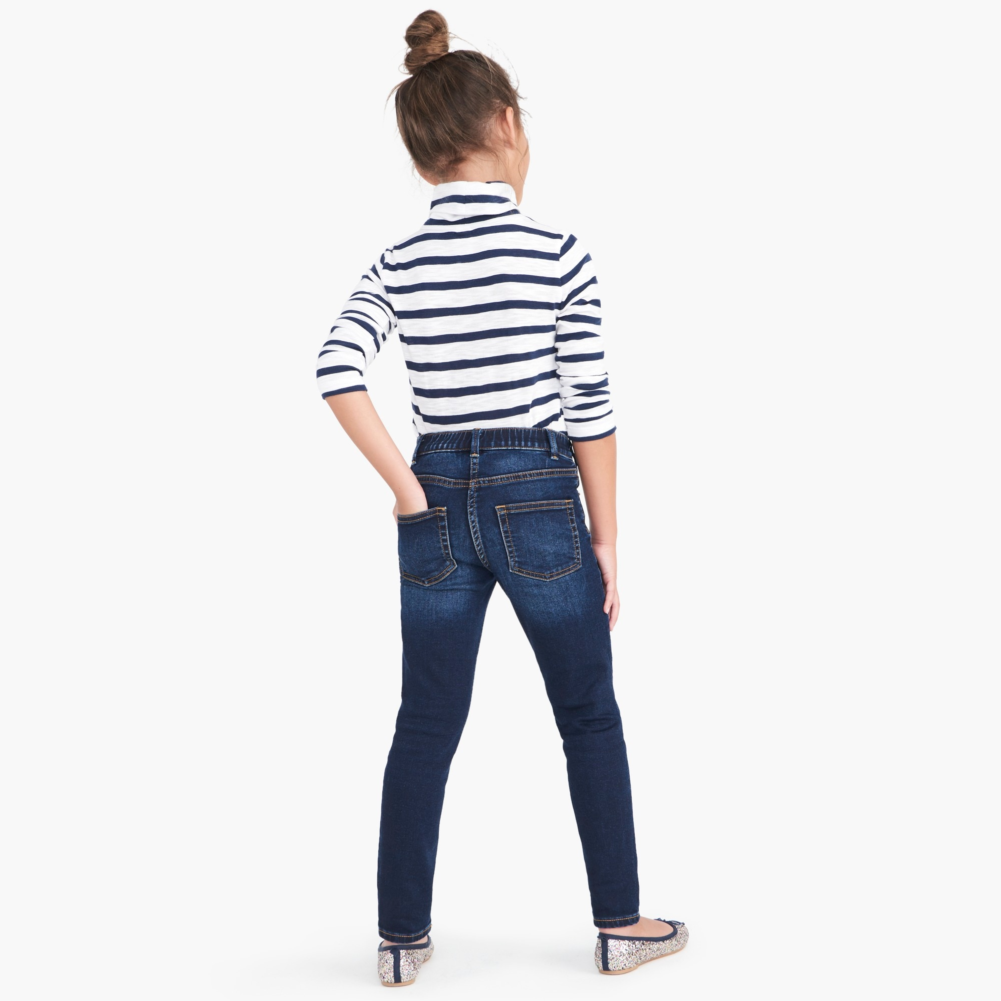 Girls' Anywhere jean in dark wash