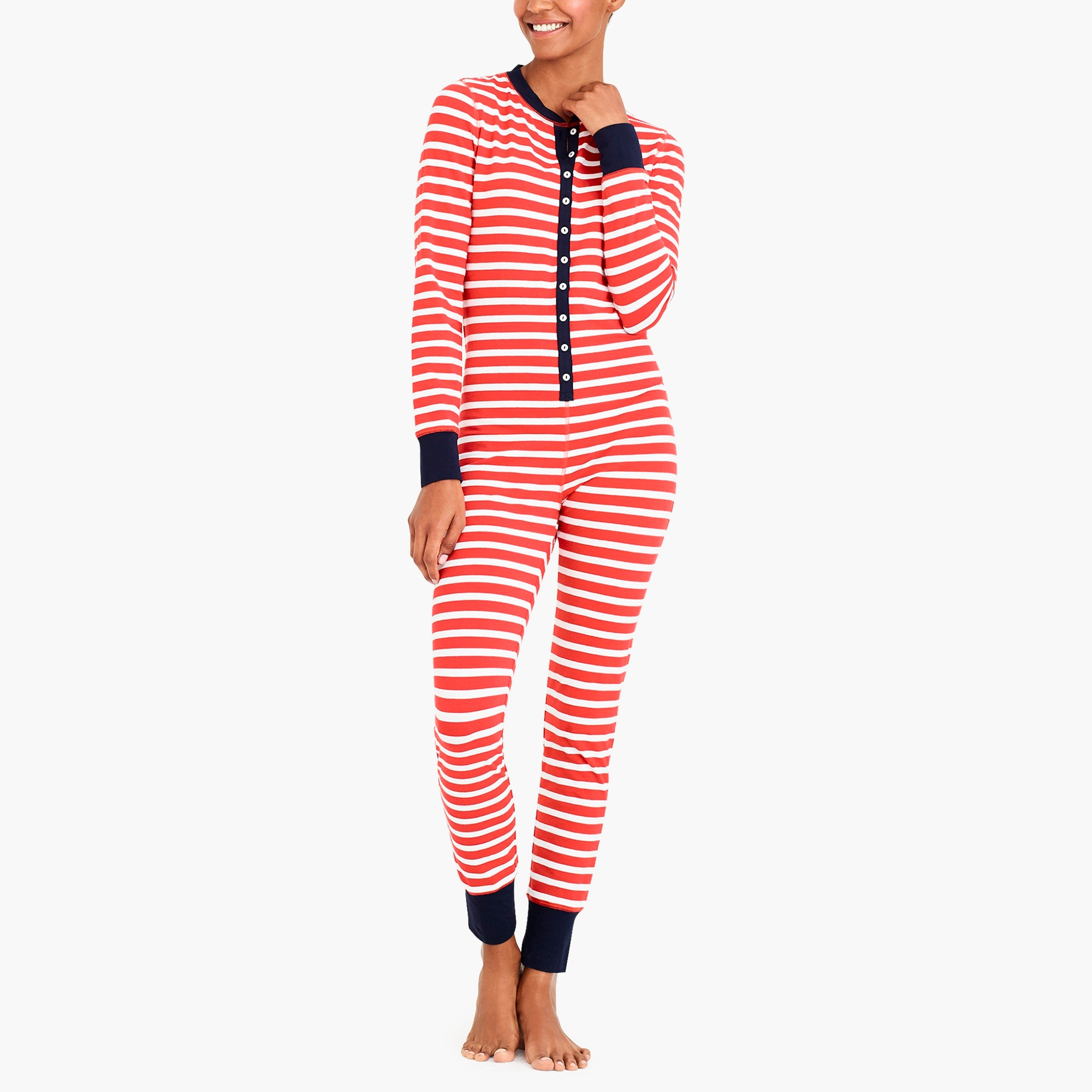 holiday union suit : factorywomen pajama sets