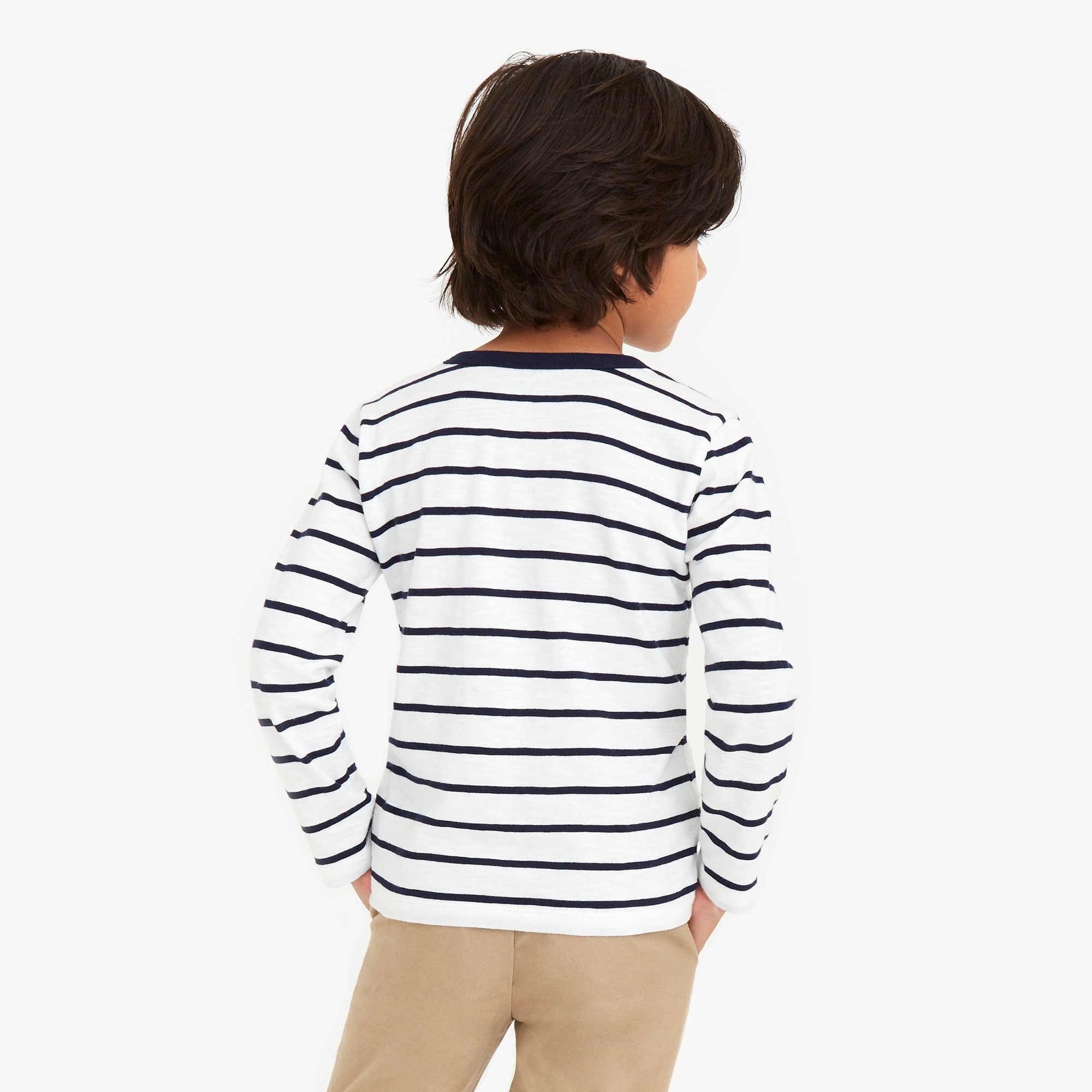Image 3 for Boys' long-sleeve striped T-shirt
