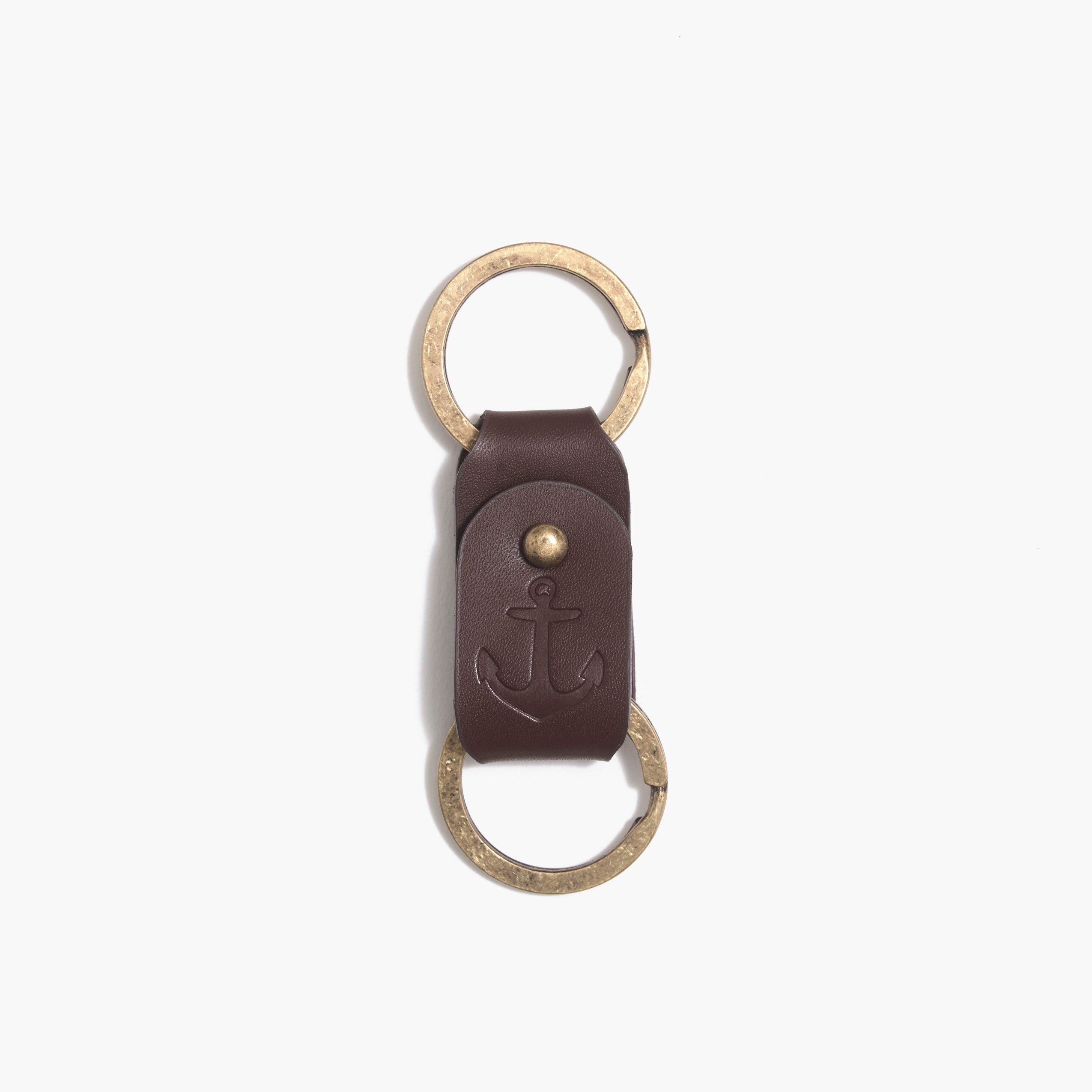 factory mens Leather keychain
