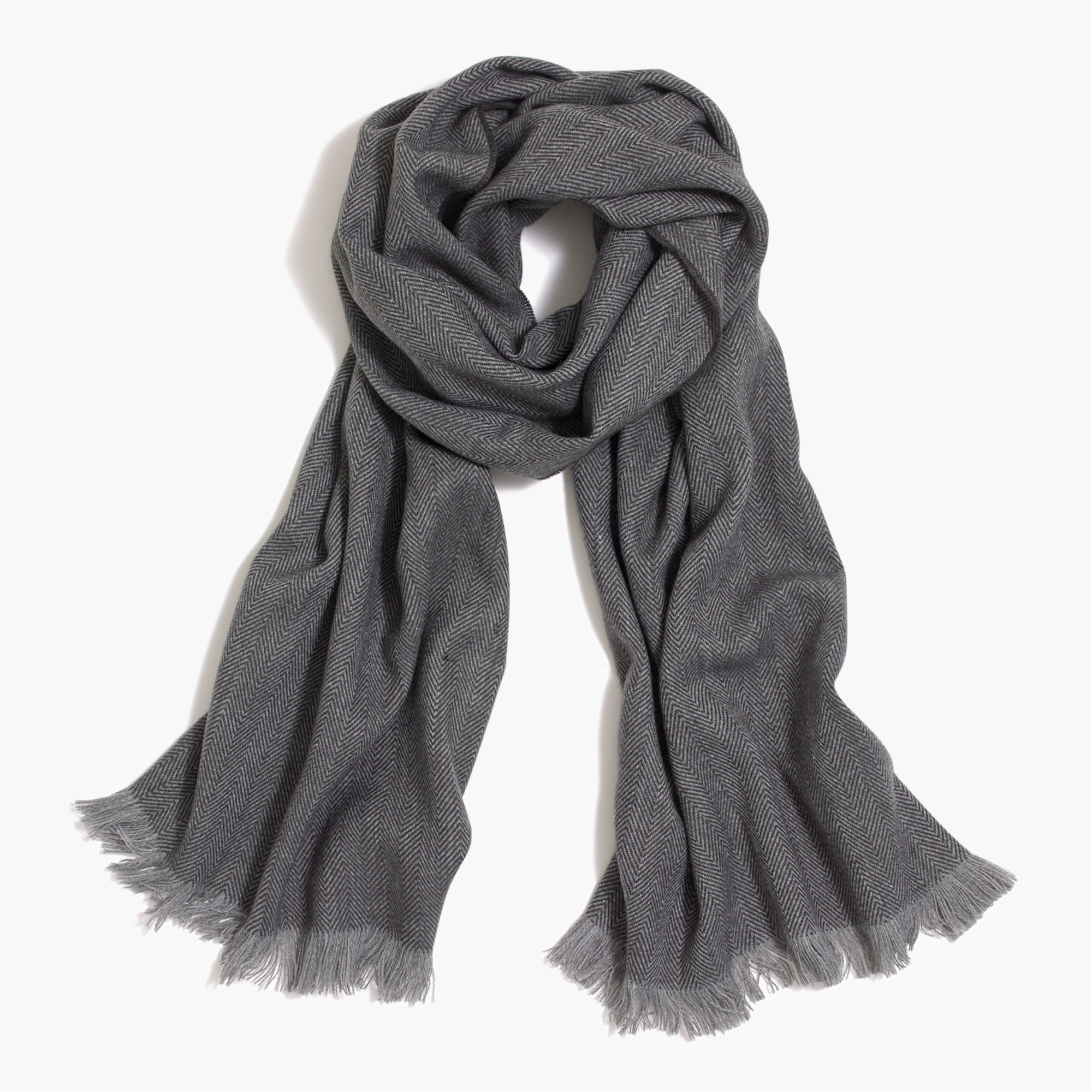 factory mens Herringbone scarf