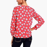 Image 3 for Printed boatneck top