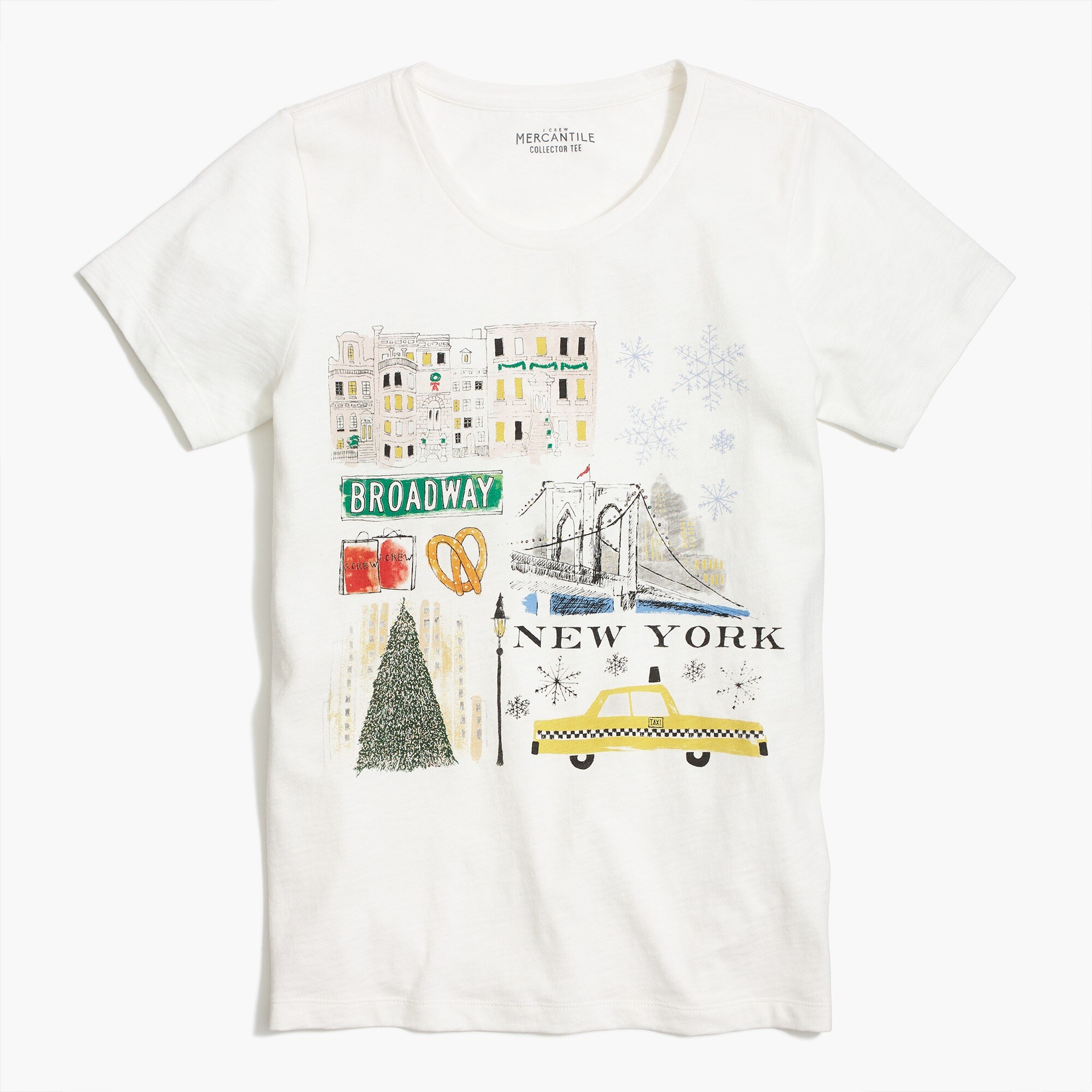 Image 2 for New York winter T-shirt