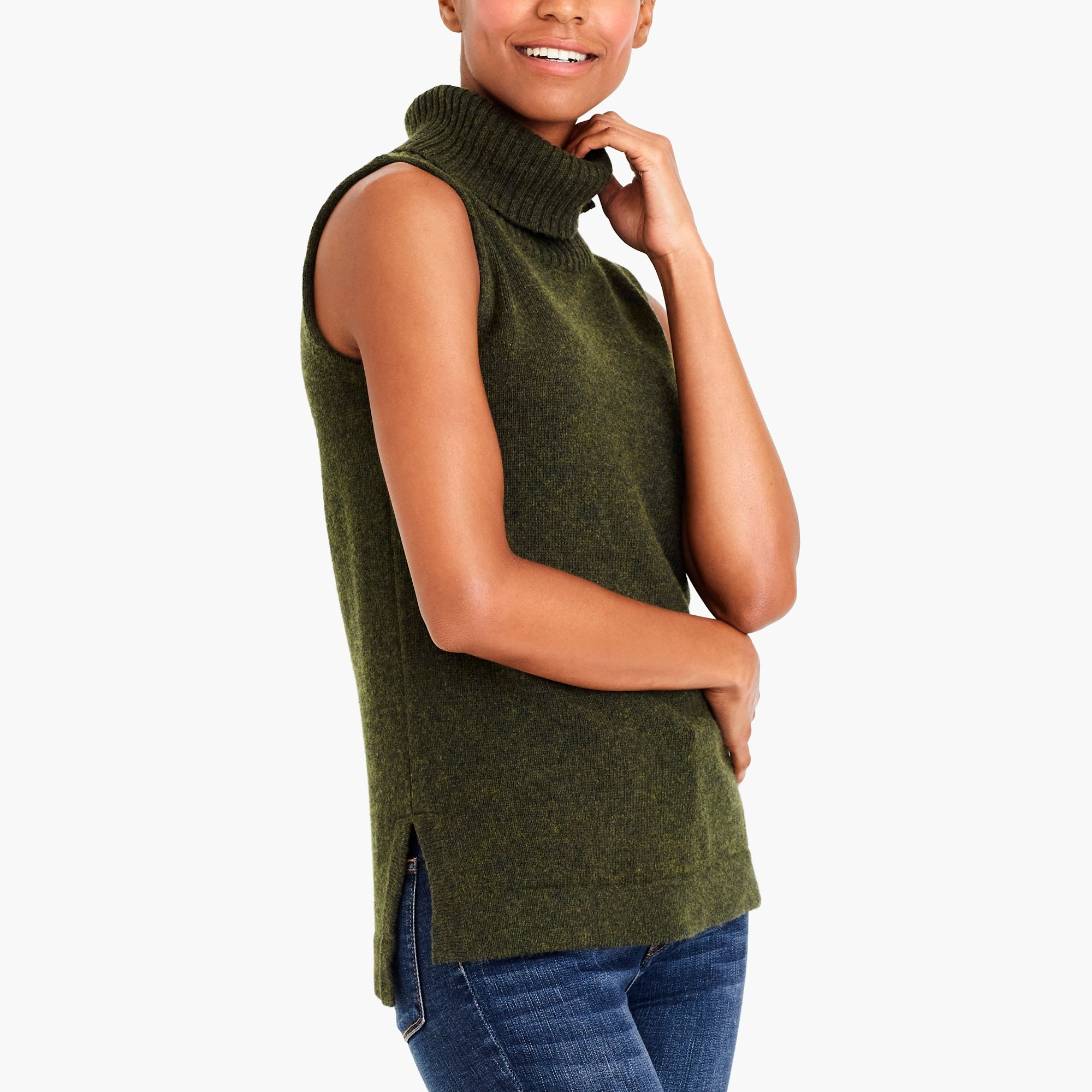 turtleneck sweater tank top : factorywomen pullovers