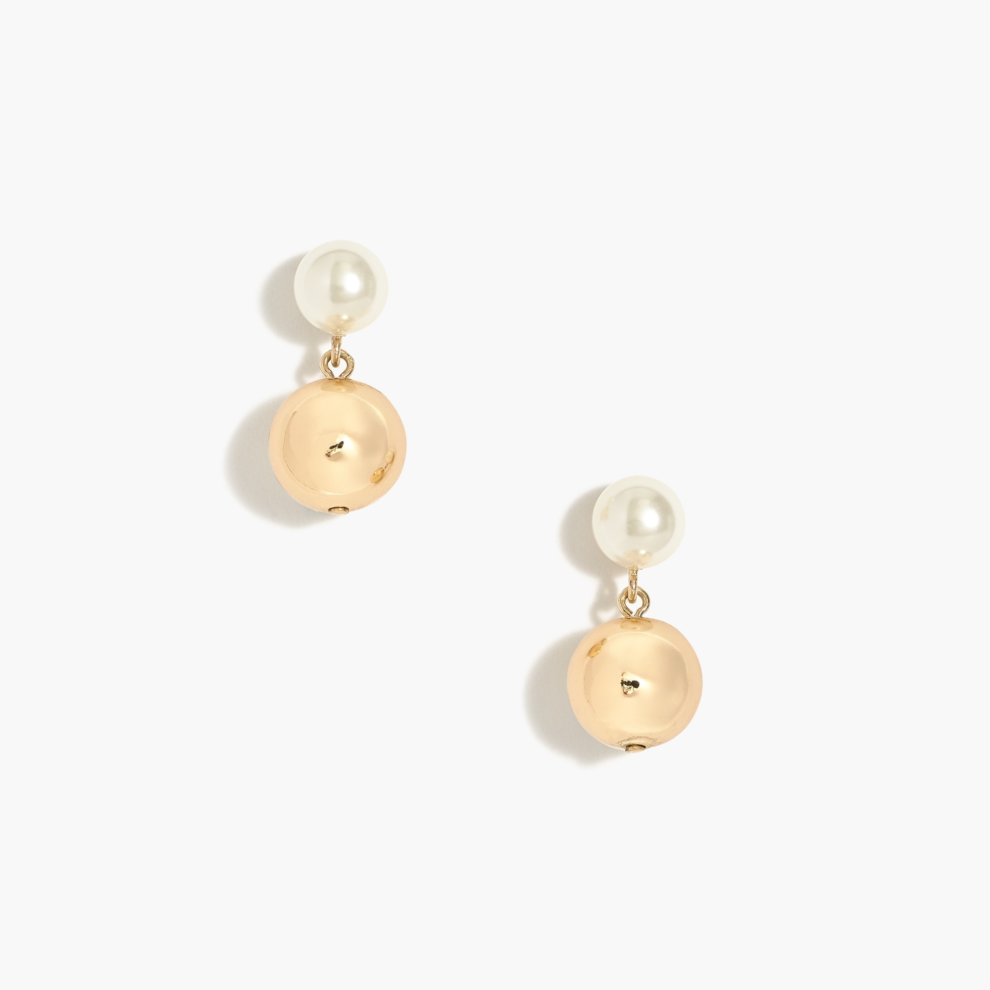 factory womens Pearl statement earrings