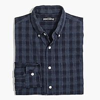 Image 2 for Slim cotton shirt in plaid