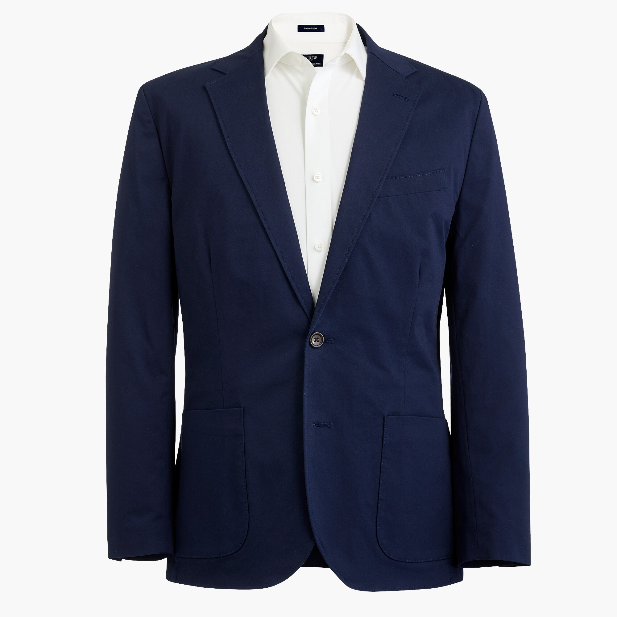 Image 2 for Slim Thompson unstructured blazer in flex chino