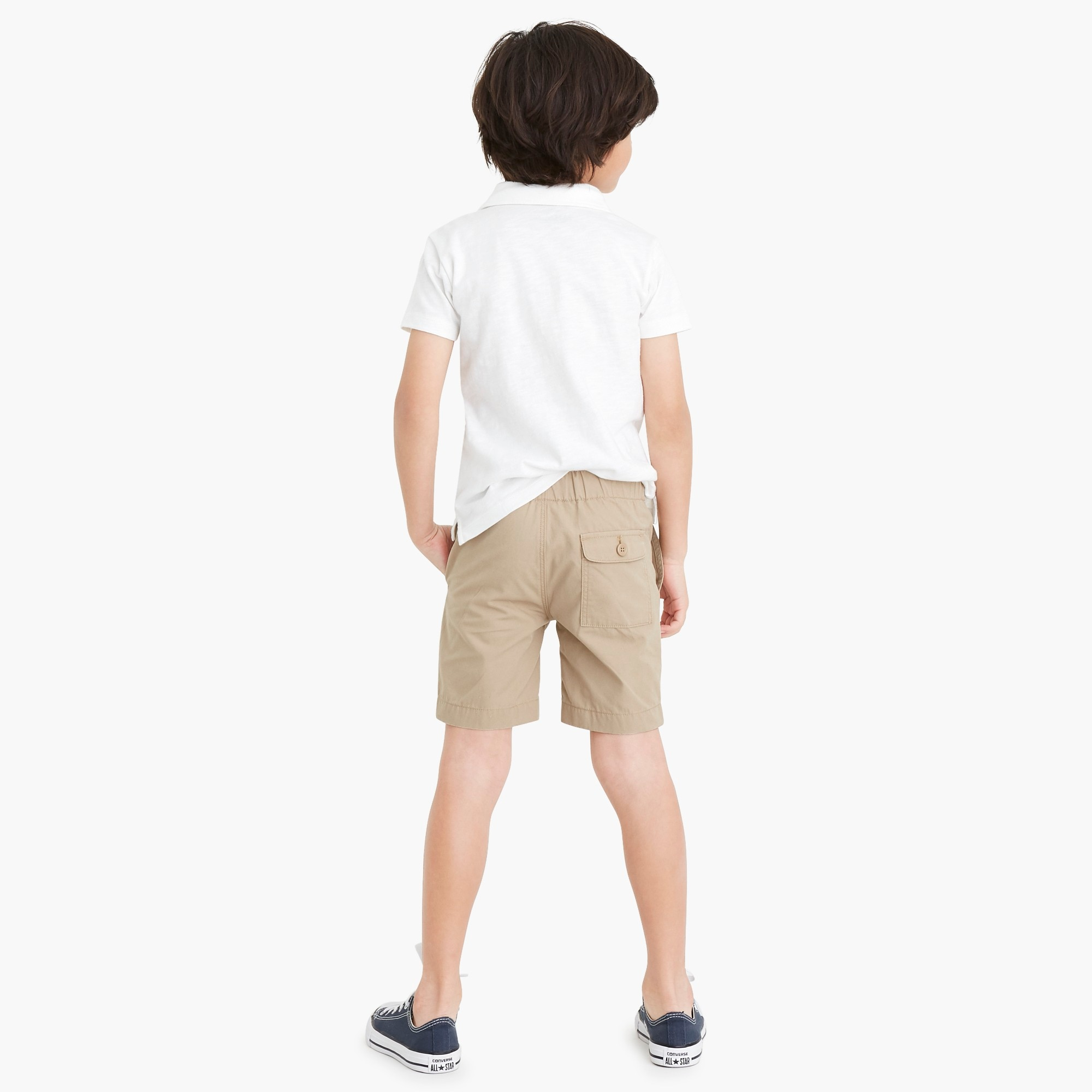 Image 3 for Boys' pull-on short in lightweight chino