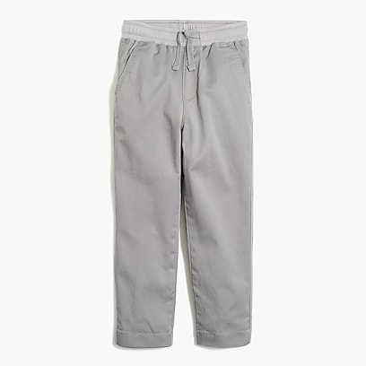 factory boys Boys' pull-on pant in lightweight chino