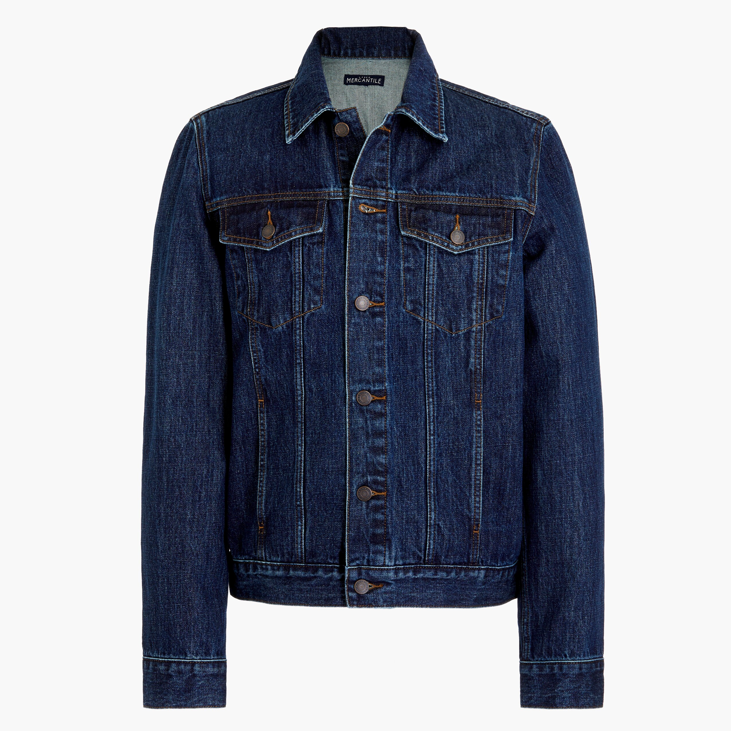 factory mens Denim trucker jacket