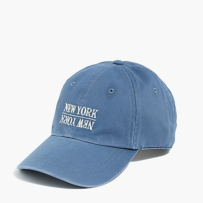 factory mens NYC baseball cap