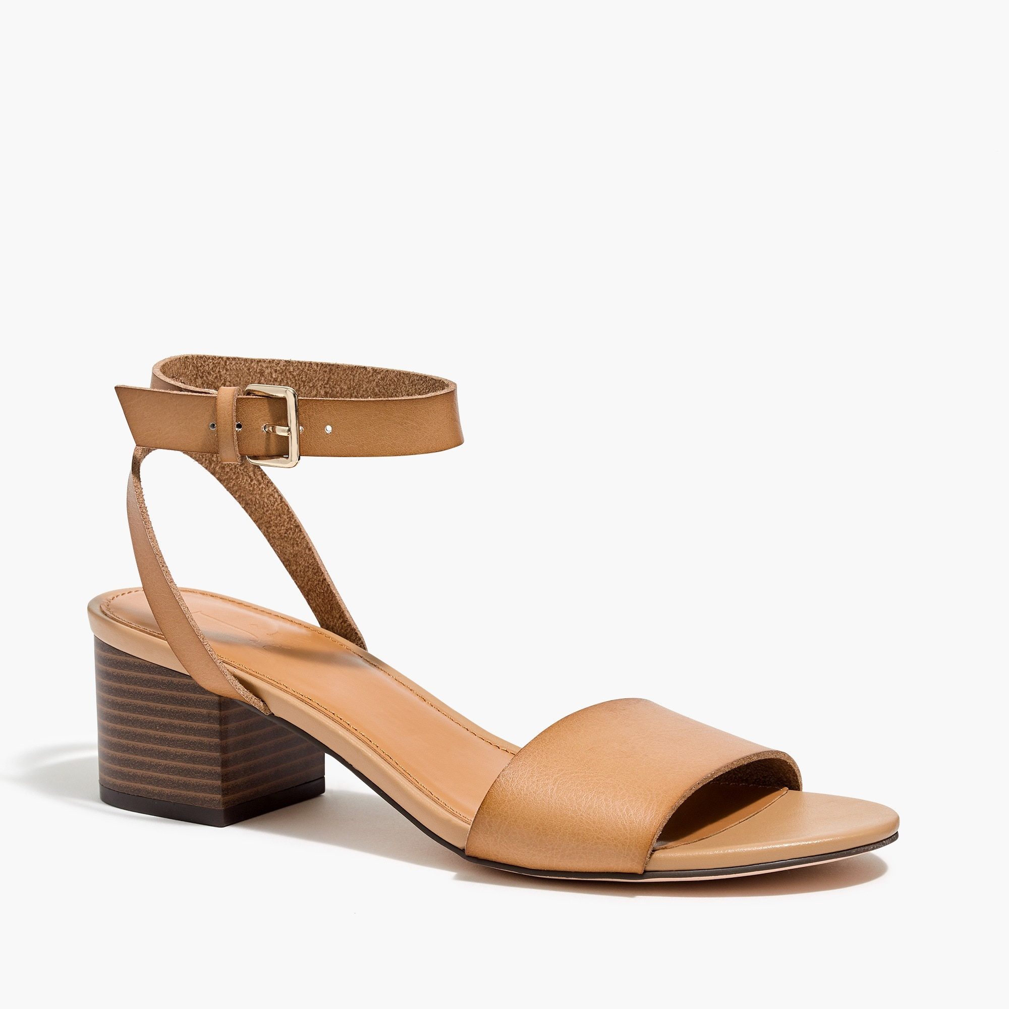 factory womens Block-heel sandals