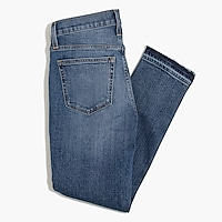 Image 5 for Slim boyfriend jean with distressed details