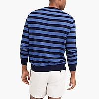 Image 3 for Striped crewneck sweater in cotton