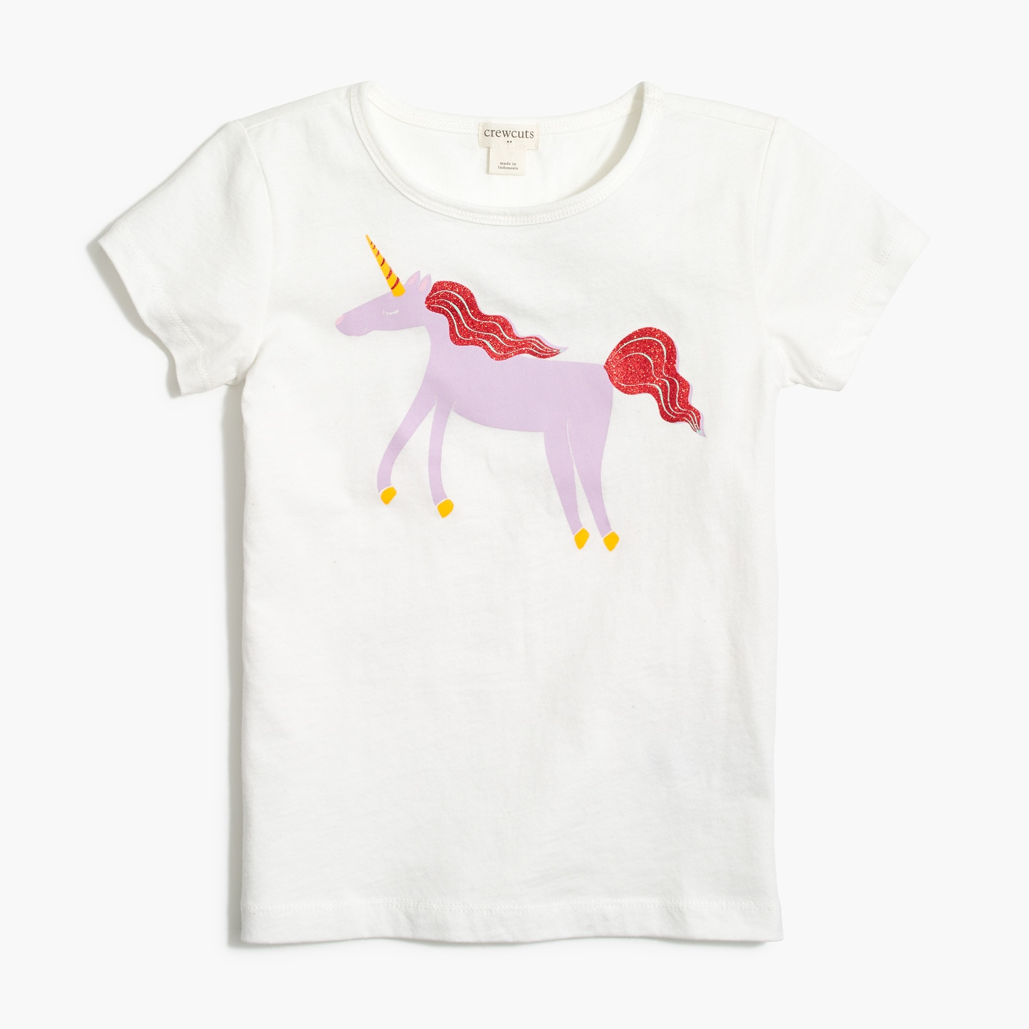 factory girls Girls' unicorn graphic T-shirt
