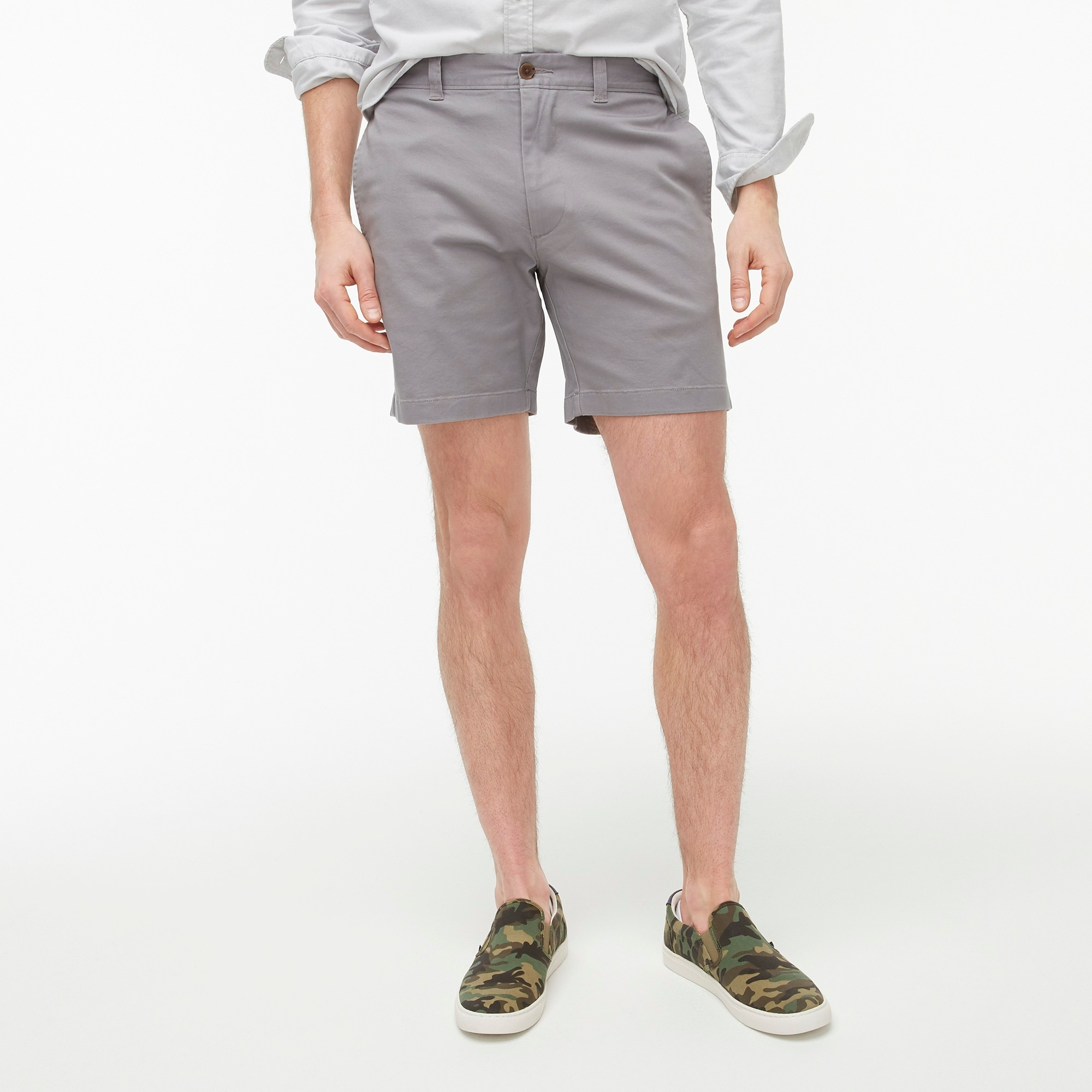 "factory mens 7"" Reade flex chino short"