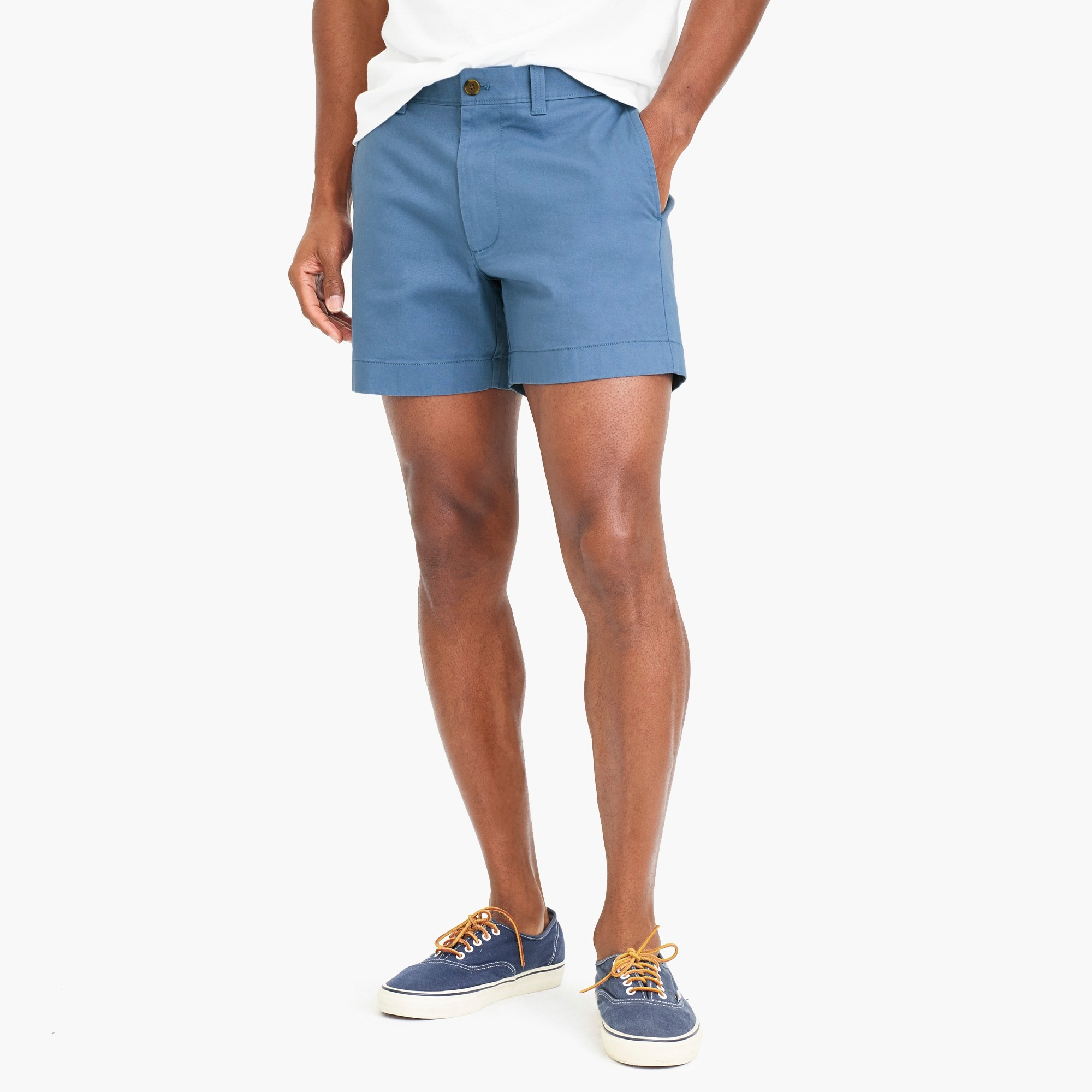 "factory mens 5"" Varick flex chino short"