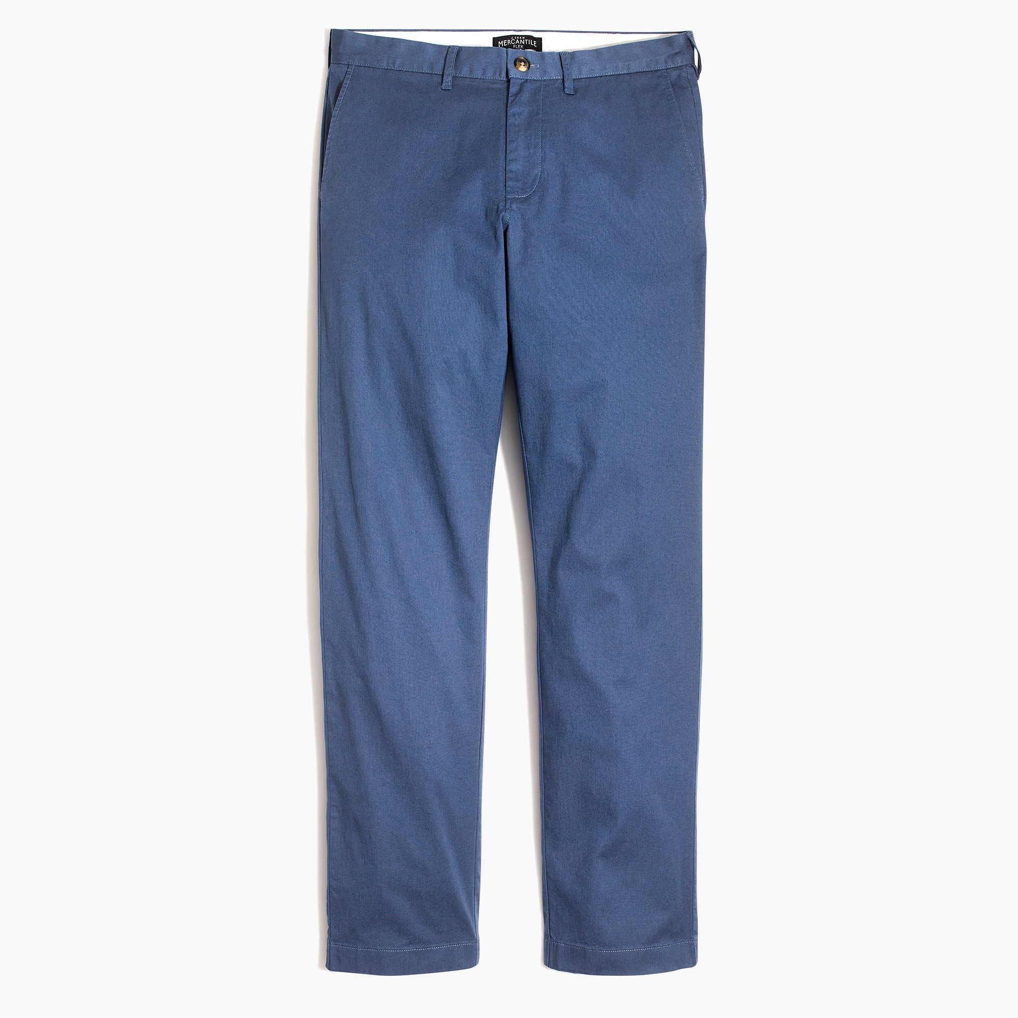 factory mens Straight-fit lightweight flex chino