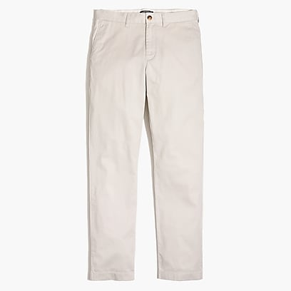 Straight-fit lightweight flex chino