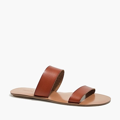 factory womens Easy summer slide sandals