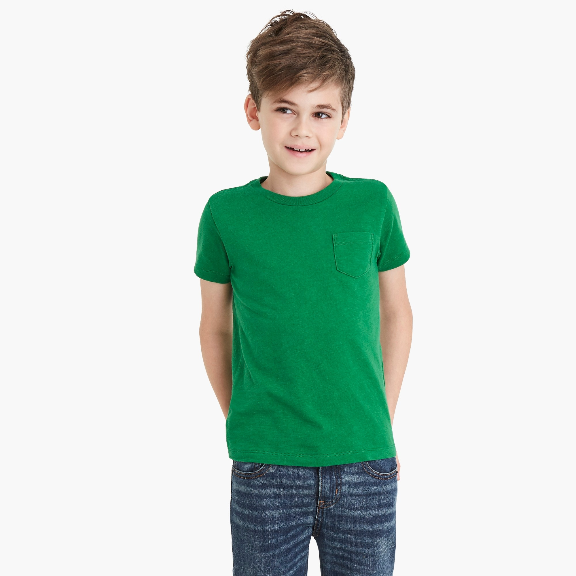 Image 1 for Boys' slub cotton T-shirt