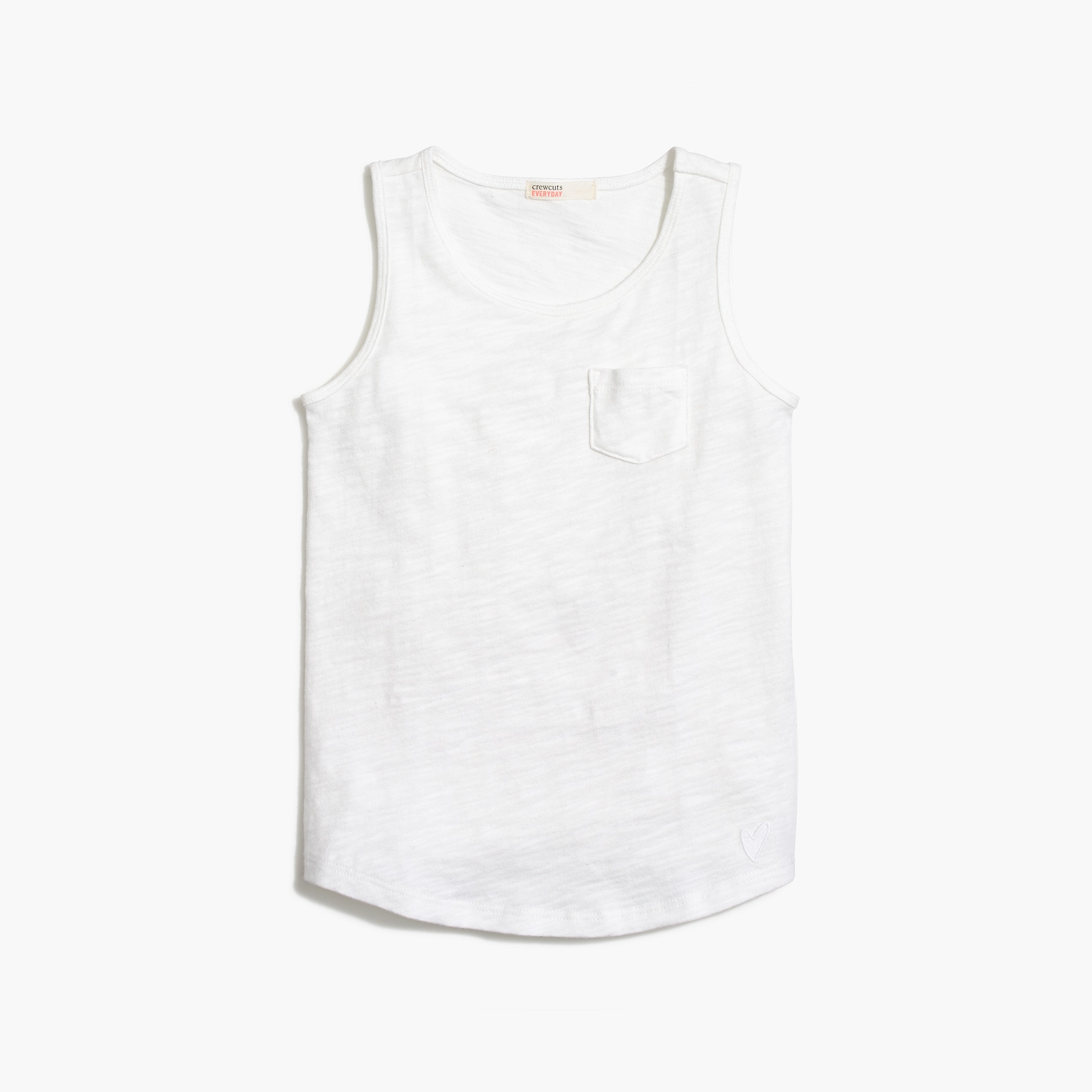 factory girls Girls' pocket tank top