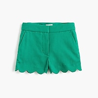 Image 1 for Girls' scallop-hem short