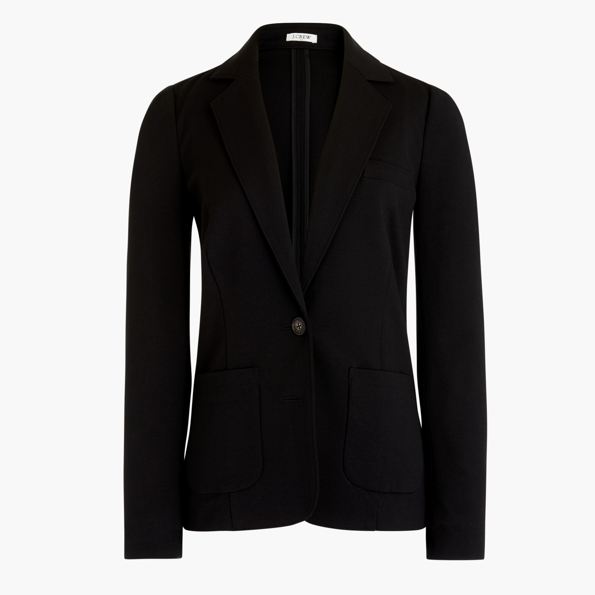 factory womens Ponte work blazer