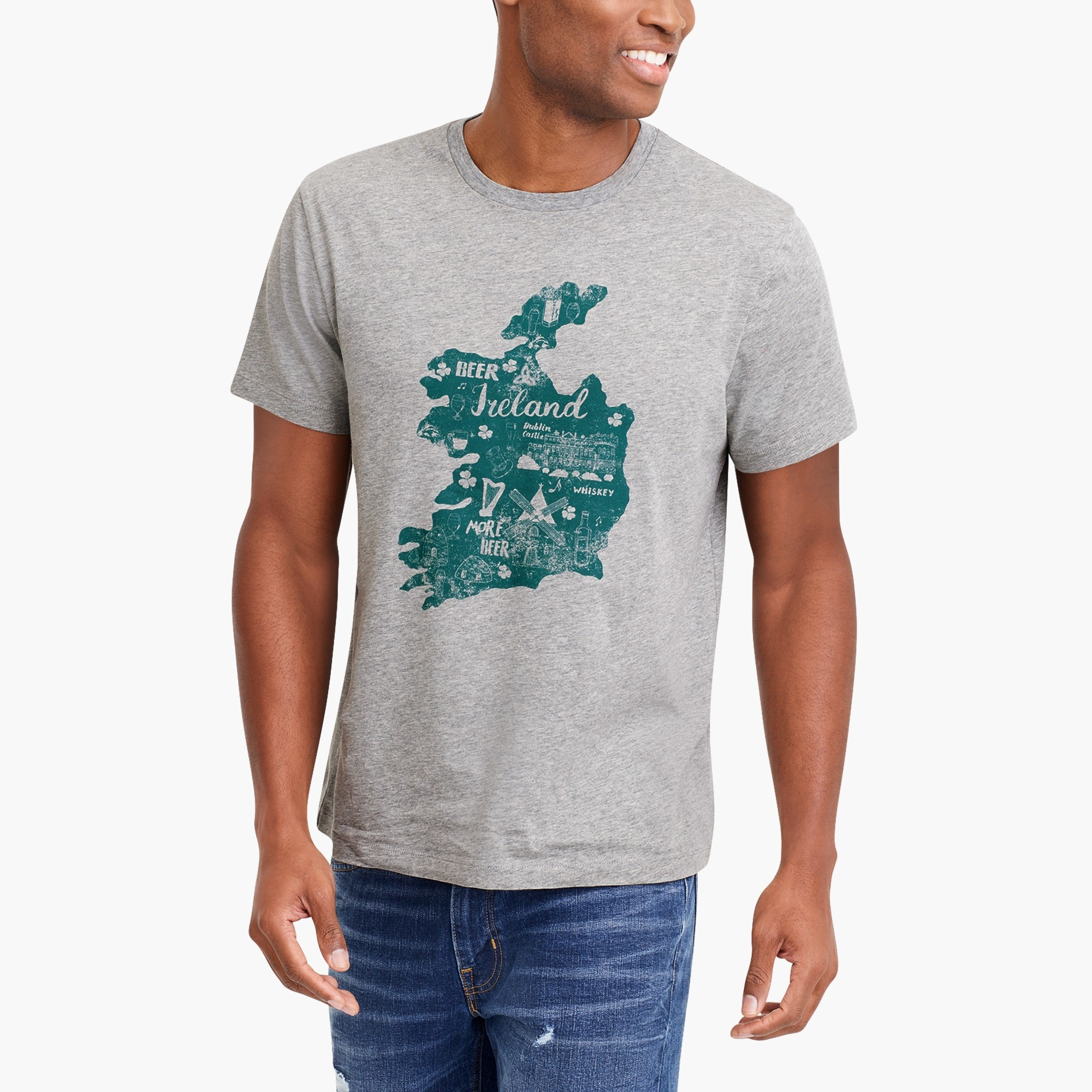 factory mens Ireland T-shirt