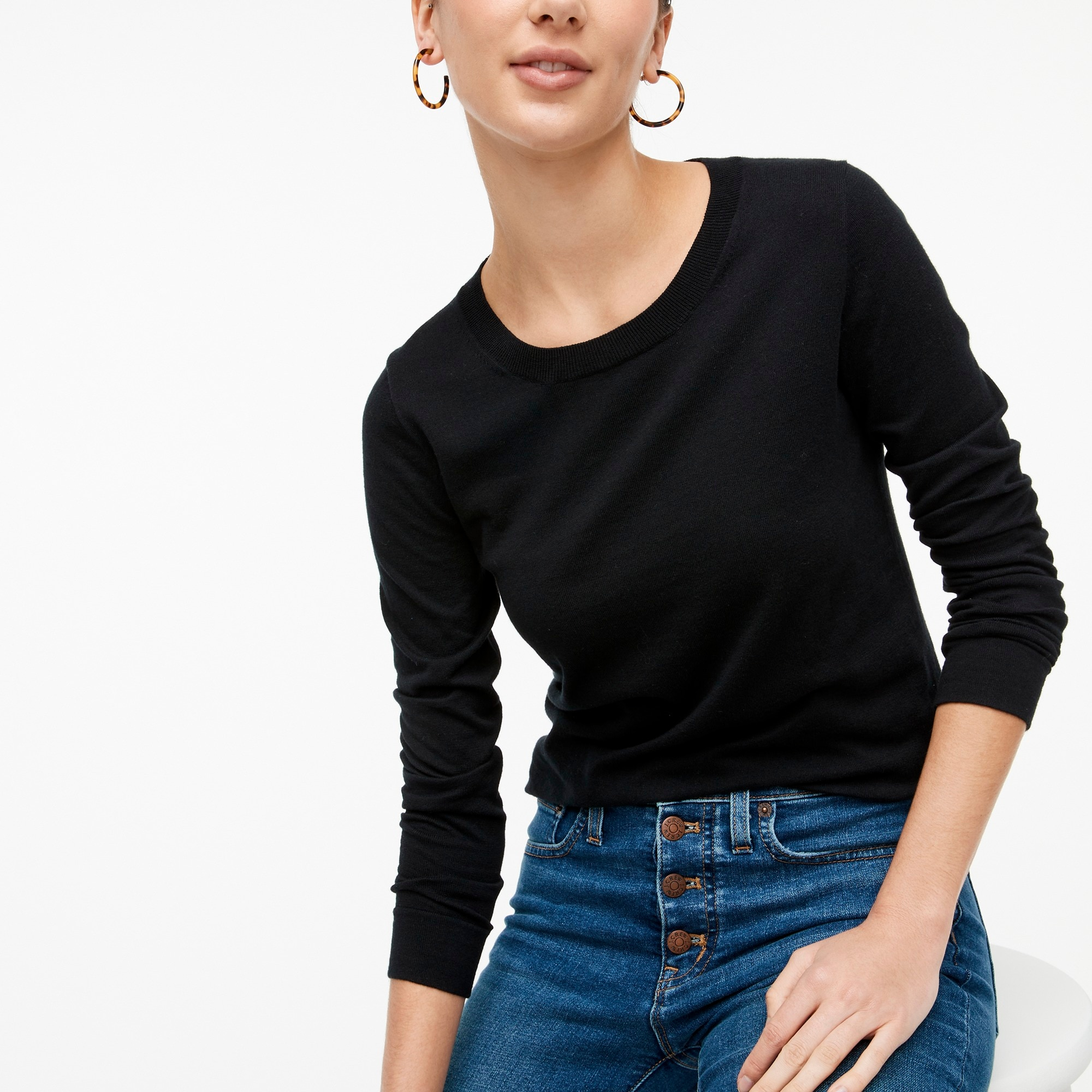 factory womens Cotton Teddie sweater