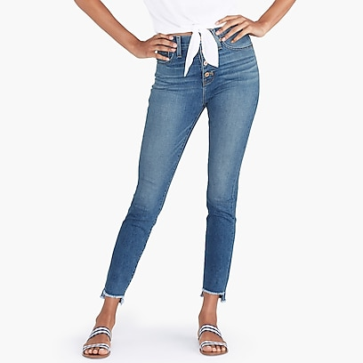 "factory womens 10"" highest-rise jean with button fly"