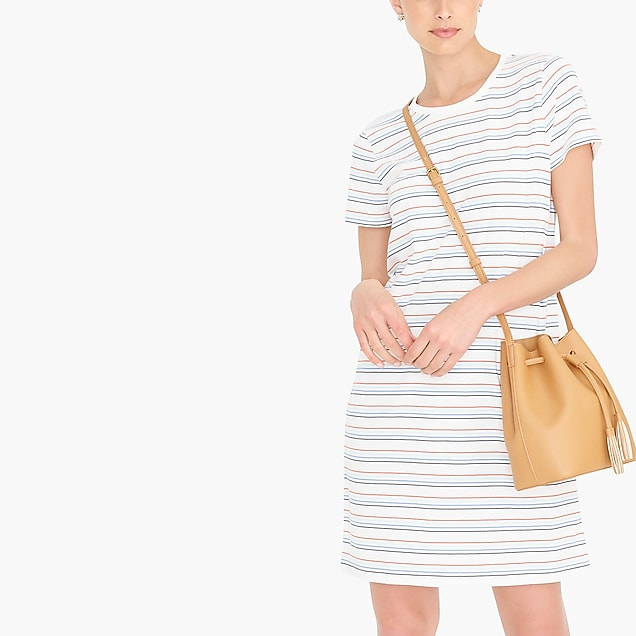 j.crew factory: striped t-shirt dress