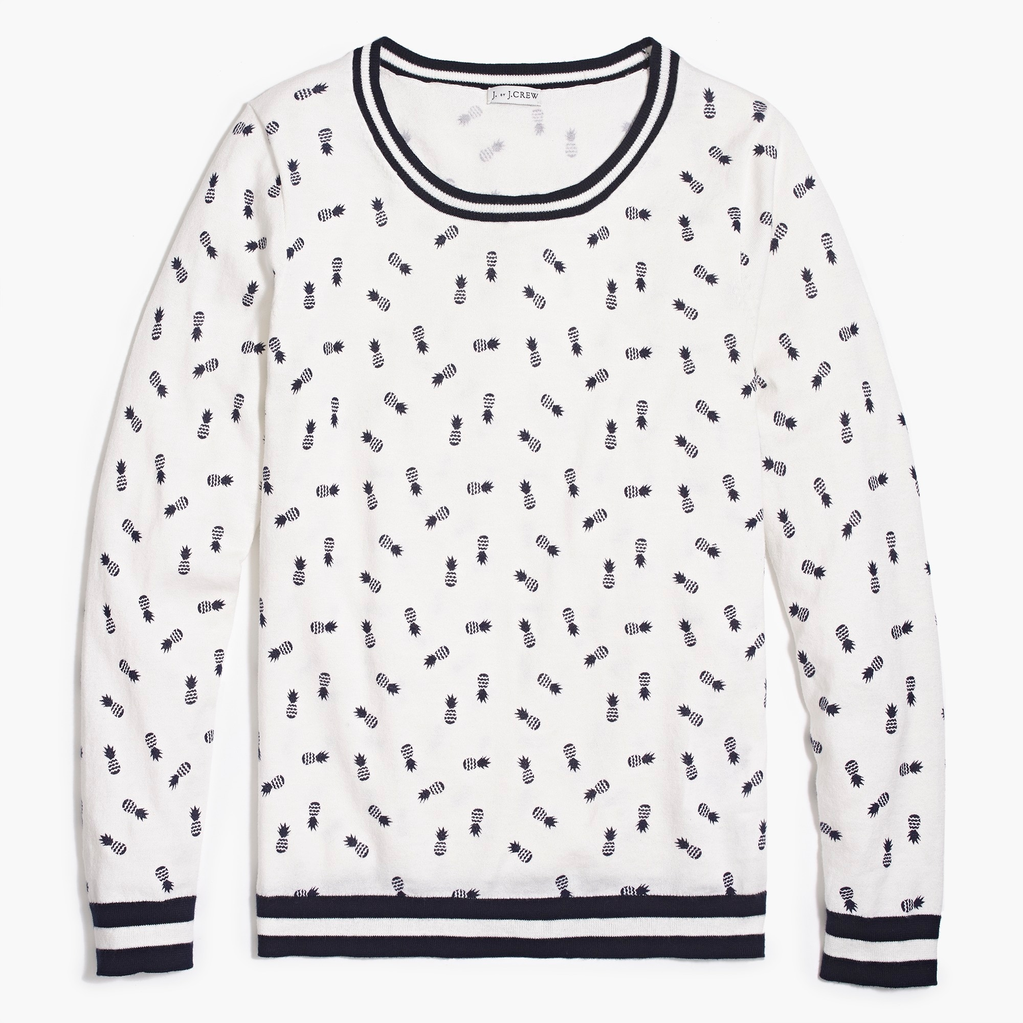 Image 2 for Pineapple print Teddie sweater