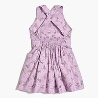Image 2 for Girls' apron dress in zebra print