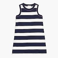 Girls' rugby-stripe dress